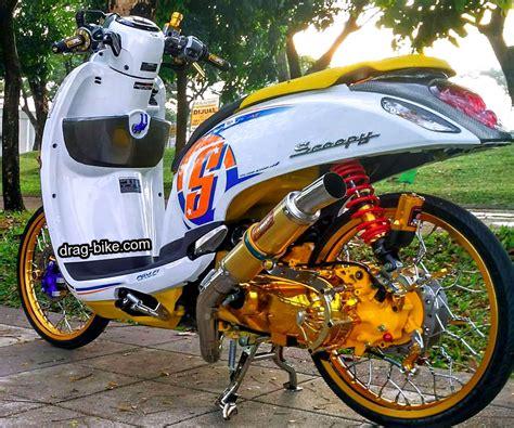 Motor Motor Modifikasi by Gambar Motor Scoopy Modif Doraemon Automotivegarage Org