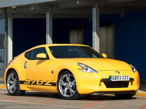 nissan yellow nissan 370z quot yellow quot z34 2009