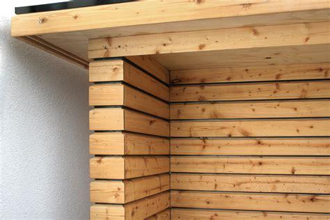 unterstand brennholz unterstand am haus holzbau frank pl 228 tzer