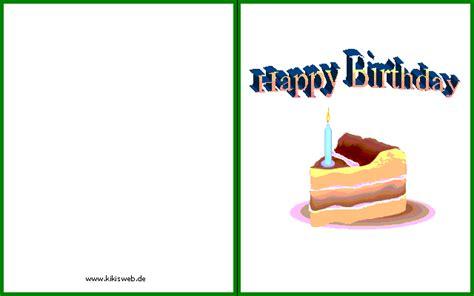 Geburtstagskarte Drucken by Geburtstagskarten Gl 252 Ckwunschkarten Zum Ausdrucken