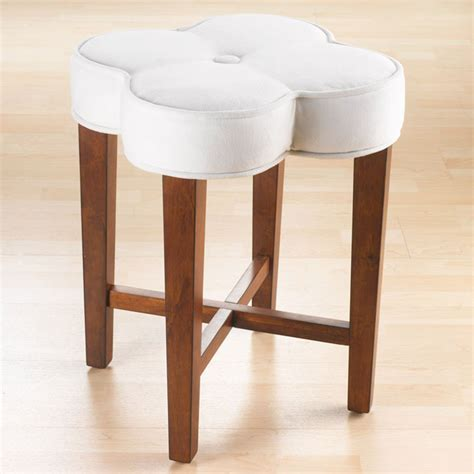Hillsdale Clover Vanity Stool by Clover Vanity Stool Dcg Stores