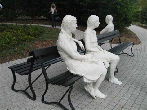 three figures and four benches 1979 three figures and four benches george segal
