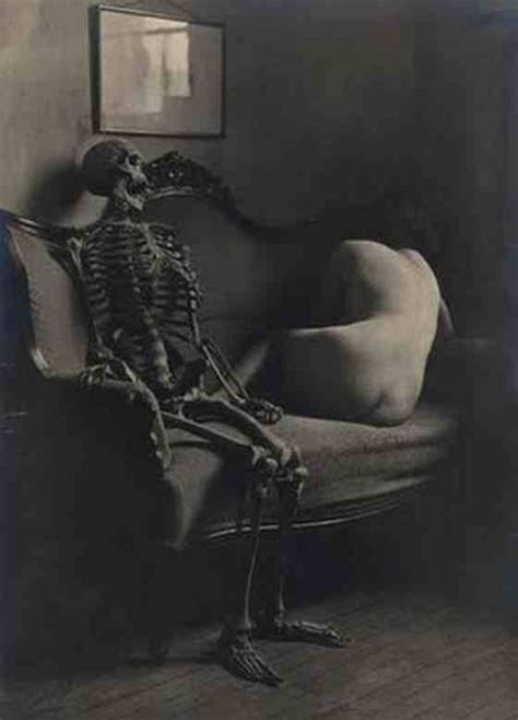skeleton couch skeleton on a couch victorian and weird old photography