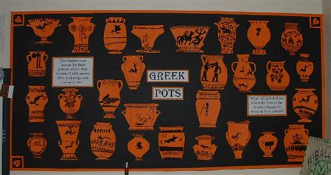 ancient greek monsters display ancient greek pots classroom display photo photo gallery