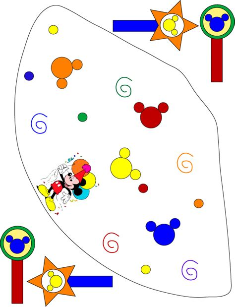 mickey mouse birthday hat template mickey mouse party hat 800946 jpg