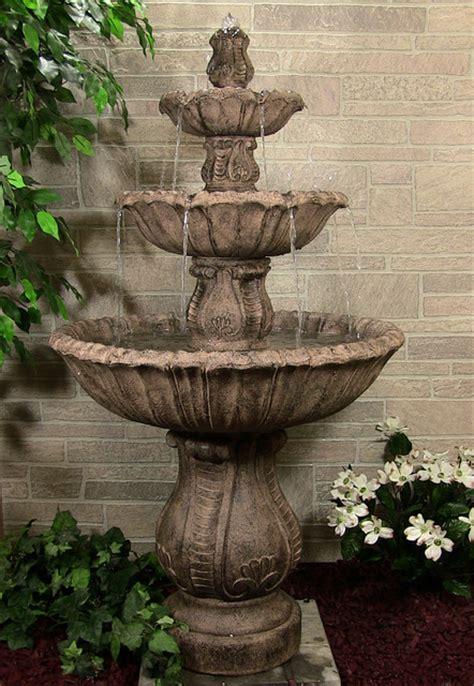 classic decorative 3 tier outdoor