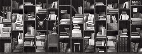 bookshelf bookshelves wallpaper with inspiration from