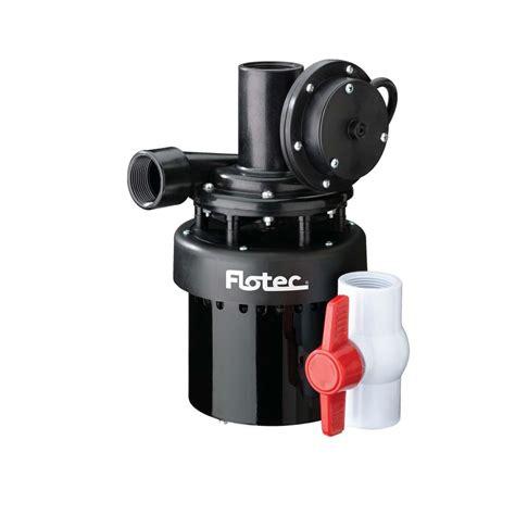 Utility Sink Pumps flotec utility sink 2400 gph ebay