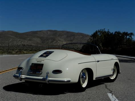 porsche california speedster 1957 porsche 356 speedster replica california titled
