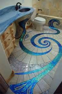 Bathroom Mosaic Tile Ideas Bathroom Tile Designs Glass Mosaic The Interior Design Inspiration Board