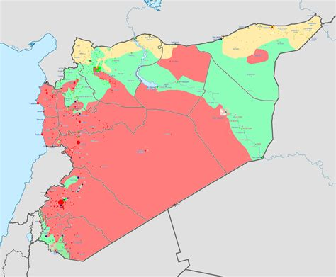 Syria War Template by Kurdistan News