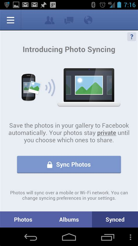 what is sync on android rolls out photo sync to android and iphone users pcworld