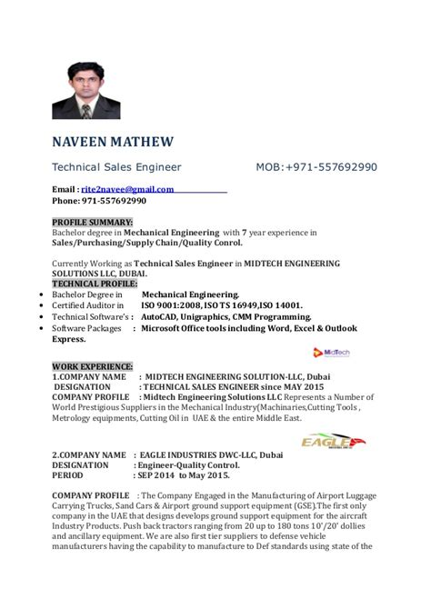 mechanical sales engineer resume sample sales engineer resume sales