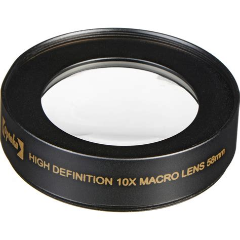 definition expedited shipping opteka 58mm 10x high definition ii professional macro opt5810x
