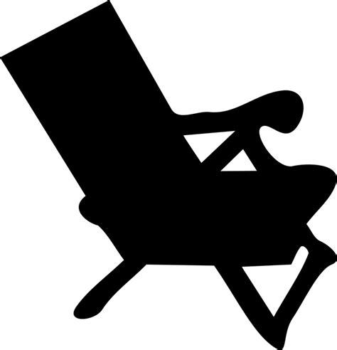 stuhl png kostenlose vektorgrafik sonnenliege stuhl silhouette