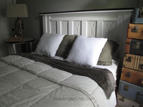 recycled headboard recycled tin shingles headboard scavenger chic