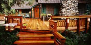 Home Design Center Virginia Redwood Deck Bob Vila