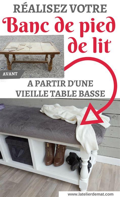 Banc De Pied De Lit by R 233 Aliser Un Banc De Pied De Lit L Atelier De Mat