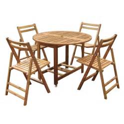 Round Wood Dining Table Sets » Home Design 2017