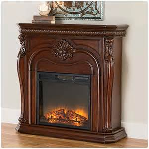 view 42 quot corner cherry electric fireplace deals at big lots