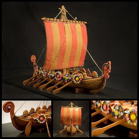 gingerbread boat template verdens spr 248 este pepperkakebakere gingerbread