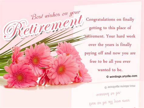 my best wishes to you retirement wishes greetings and retirement messages