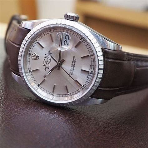 Rolex Strap Leather Everest Datejust   A&E Watches