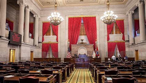 An Unusual End To An Unusual Session Of The Tennessee House Of Representatives