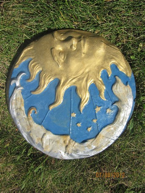 glow in the paint stepping stones 134 best images about clay concrete stepping stones on