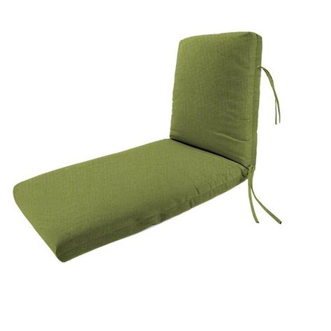 chaise lounge cushions home depot home decorators collection sunbrella cilantro outdoor