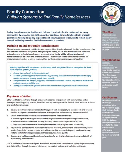 family housing connection family connection building systems to end family homelessness