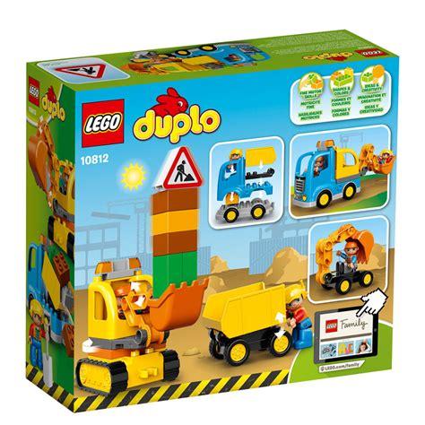 spielzeugsack lego lego duplo truck tracked excavator