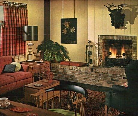 1960 living room 1960s decorating style 16 pages of painting ideas from 1969 sherwin williams retro renovation
