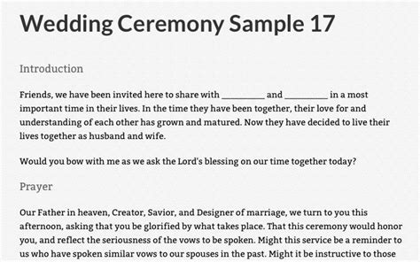 Wedding Ceremony I Do Script by Https Bible Org Article Wedding Ceremony Sle 17