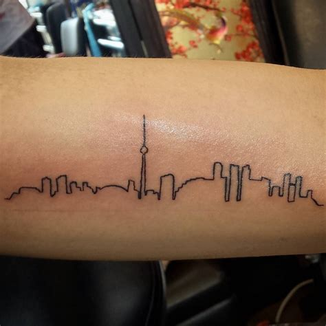 city line tattoo 20 skyline designs ideas design trends