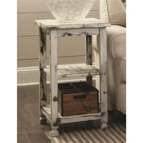 country cottage furniture alaterre furniture country cottage white antique 2 shelf