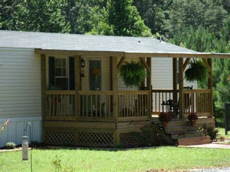 25 best ideas about manufactured home porch on
