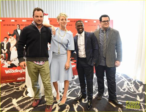 wedding ringer cast gets pascal s support at