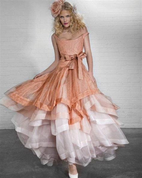 A Pretty Slinky Vivienne Westwood Dress To Bowl Him by Vivienne Westwood 2012 Bridal Collection Exclusive
