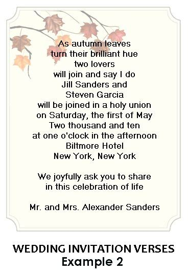 exles of wording for wedding invitations sle wedding invitation wording