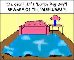 may 3 2012 lumpy rug day different colored shoe day