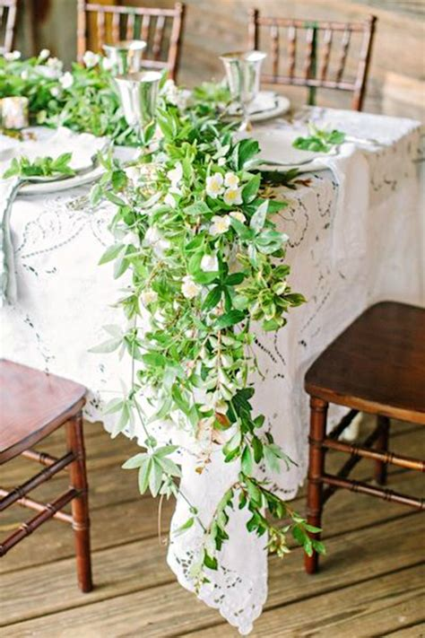 gaga for garland wedding flower garlands calder clark