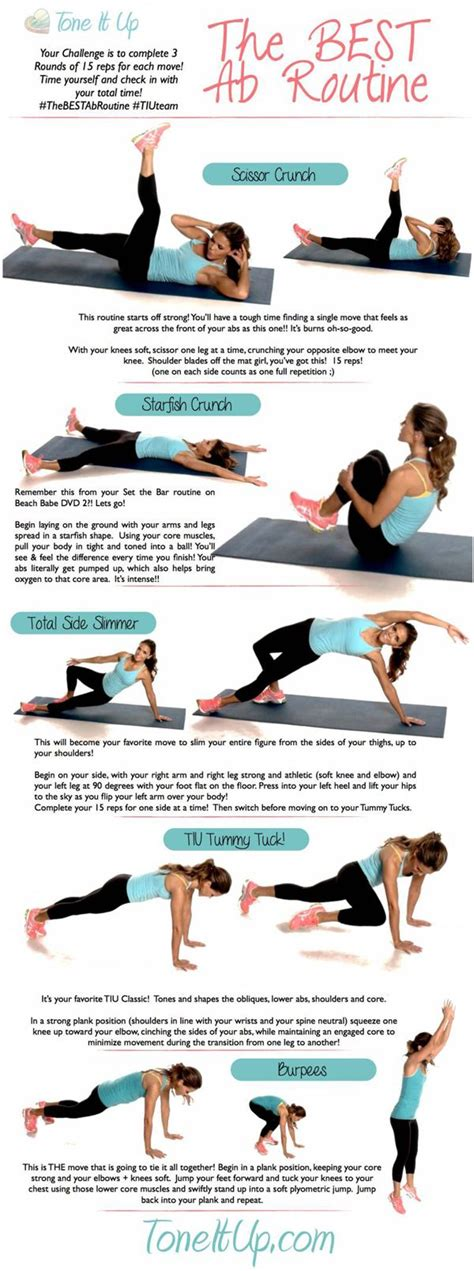 best ab workout for women tone it up the best ab workout routine best ab routine