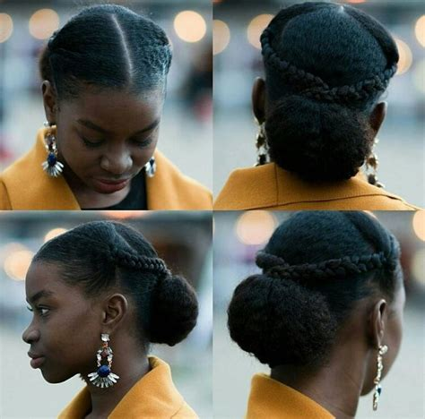 Protective Hairstyles For Hair Bun by Best 25 4c Hairstyles Ideas On