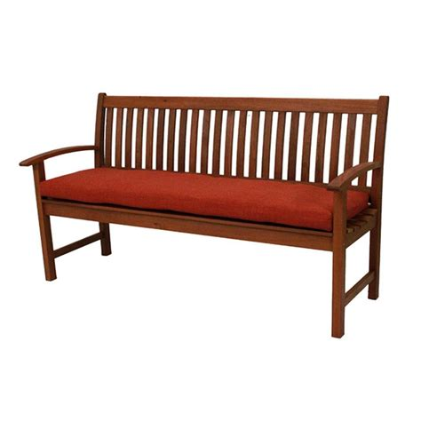patio bench cushions blazing needles 63 x 19 in outdoor all weather uv