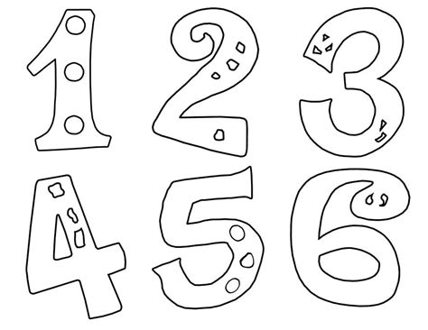 printable numbers 0 10 numbers coloring pages colori on number coloring pages for