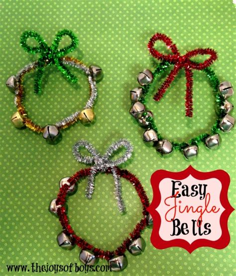 crafts with bells easy jingle bells craft