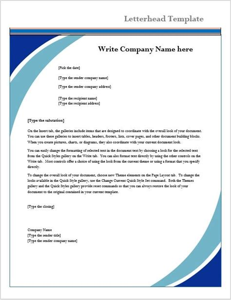 word with these letters letterhead template microsoft word templates free psd and 1728