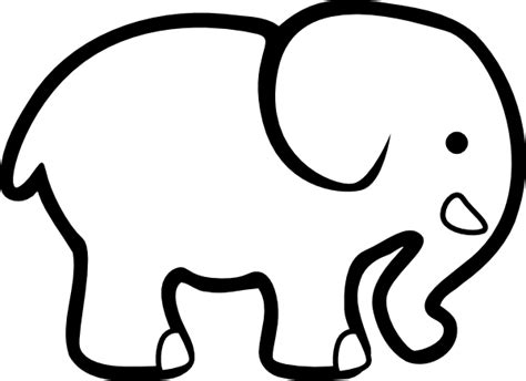 elephant outline coloring pages elephant coloring pages coloring pages to print