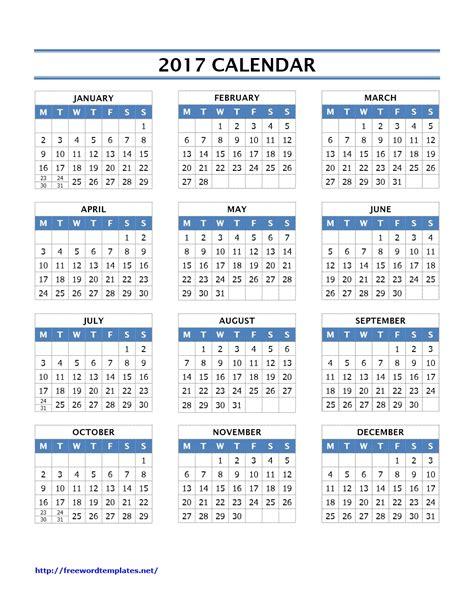 template microsoft word calendar template